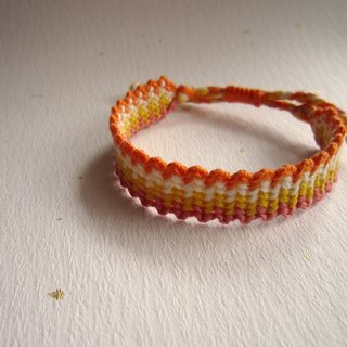 Rainbow Lucky Rope Braided Bracelet (optional color)