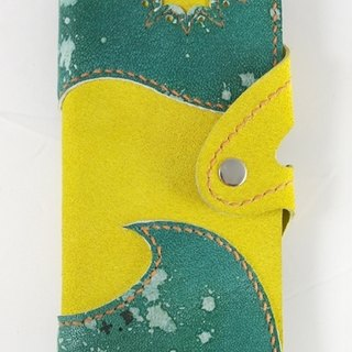Hit the color green with a yellow hand-sewn 140,418 mobile phone sets