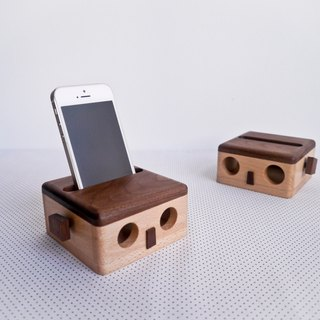 冏兵 amplification box mobile phone holder decoration doll unplugged speaker unplug