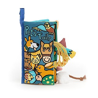 Jellycat Pet Tails Book