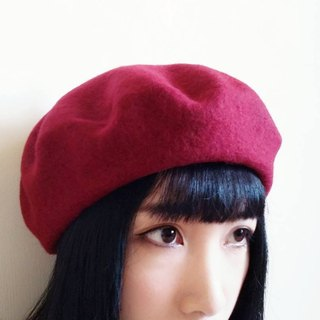 Pure wool berets / painters hat / wool hat / can be customized text name