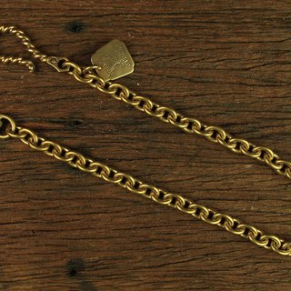 [METALIZE] Twist Big Brass Hanger Waist Chain