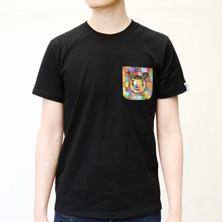 [BestFriend] Klee GirlFriend Pocket T-Shirt / print pocket short T