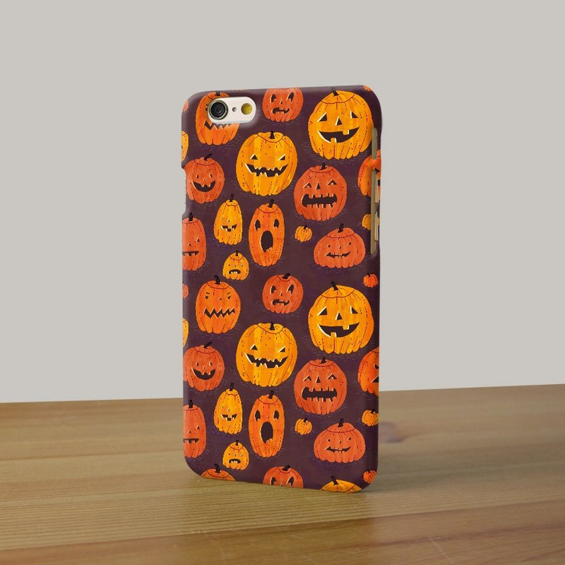 Halloween Pumpkin Trick or Treat phone case for iPhone and Samsung