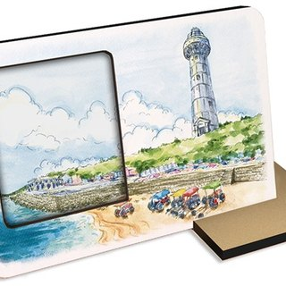 Ten tourist attractions in Taiwan ~ Na Kenting ~ 30 seconds sound and light can record photo frames photo gift card postcard