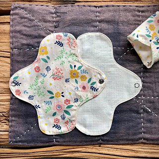 Environmentally friendly handmade cotton cloth sanitary napkin pad
