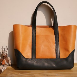 Double color Tote bag