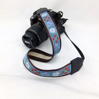 Camera strap can print personalized custom leather stitching national wind embroidery pattern 018