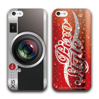 Double your money back! PIXOSTYLE iPhone 5 / 5S protective shell original design classic camera + refreshing cola, two 990! Lightning USB link cable retransmission