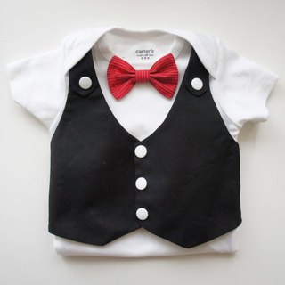 Tuxedos Baby Suit-BABY suit bag fart clothing