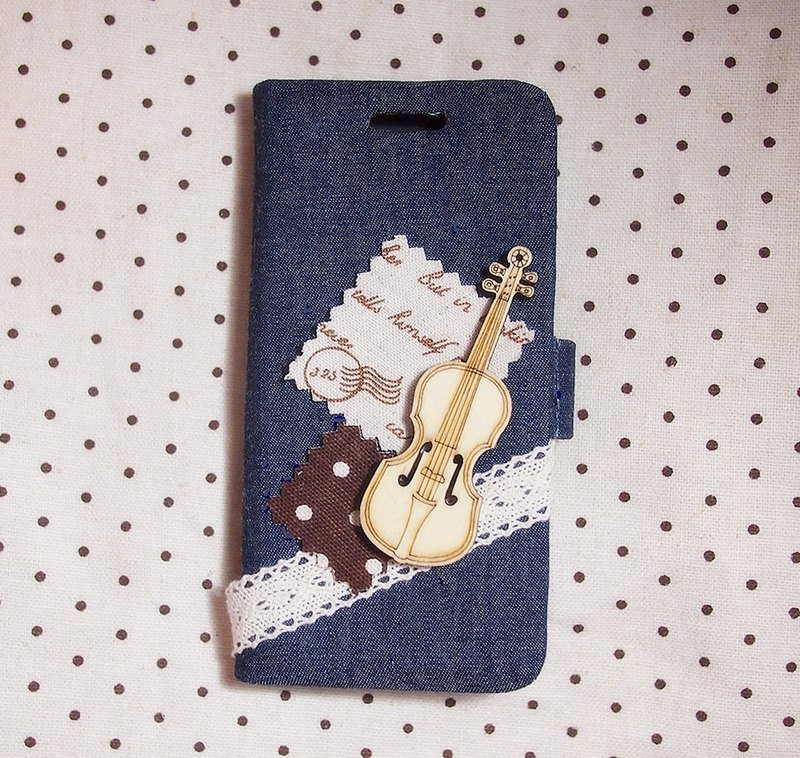 Cloth jeans French style wooden guitar phone shell mobile phone sets Samsung Sony Xperia Z Z1 ZR ZL SP Acro S Ion