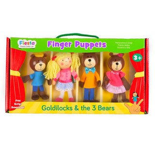 [UK Fiesta moving hands +] three bears playing creative creativity fingers even Toys (4 groups)
