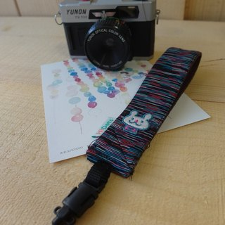 HiDots hand in hand cameras / Polaroid wrist bands (color bars * rabbit)