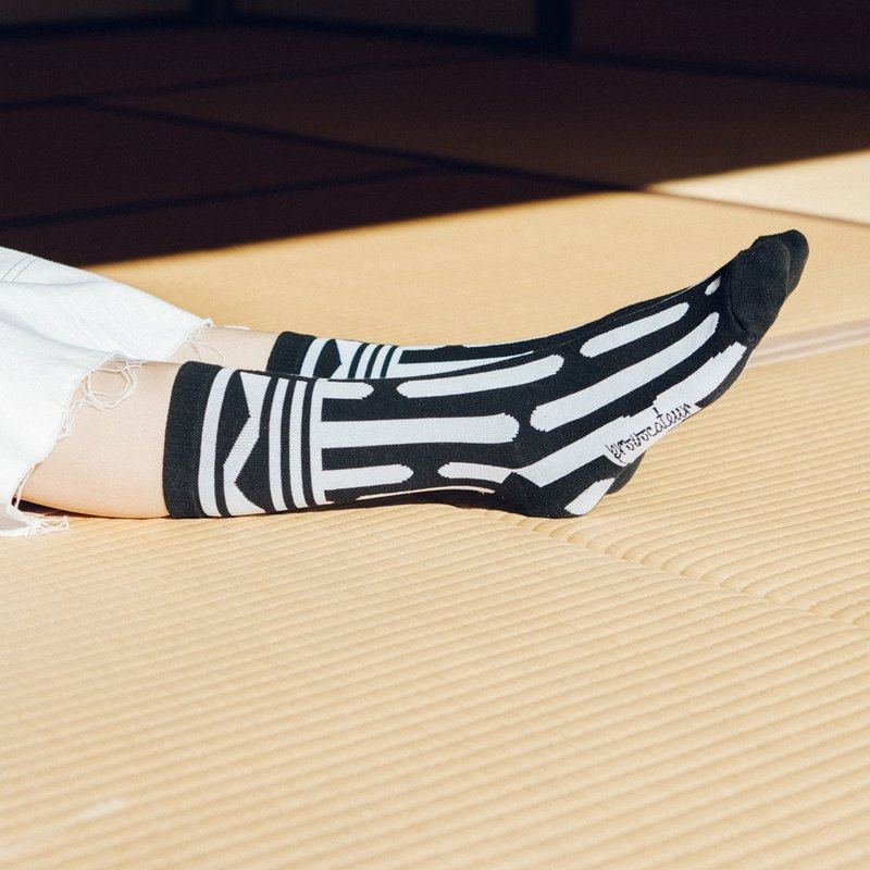 Floating Geometry Socks