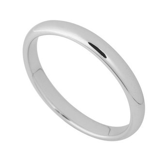 Tenderness time Silver Ring (3.2mm)