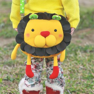 Balloon-large side backpack (petal lion)