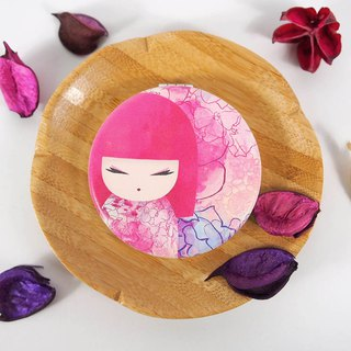 Portable mirror - Yuka warm heart energy [Kimmidoll portable mirror]