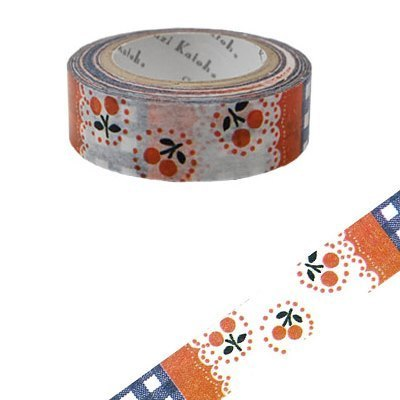 Shinzi Katoh Kato Tetsuya Illustrated Paper Tape (Cherry KS-MT-10003)