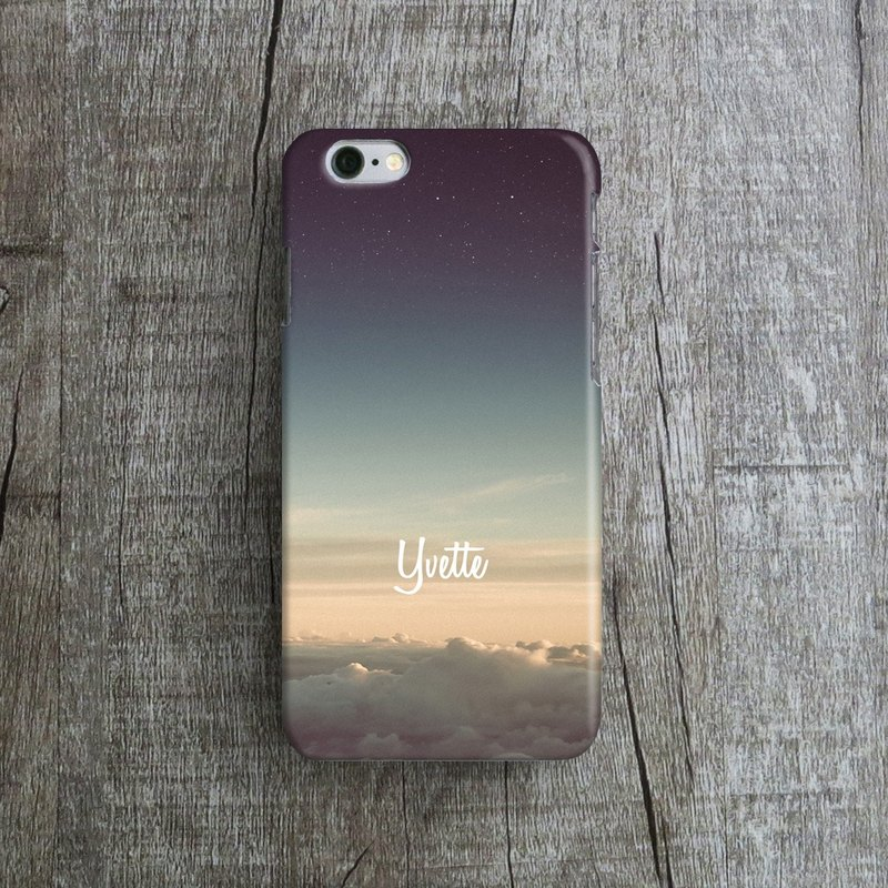 Personalized- Sky, - Designer iPhone Case. Pattern iPhone Case.