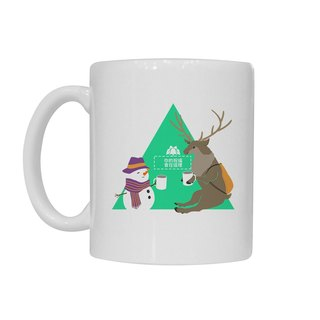 [Handongsongnuan] ordered a Christmas mug! - And Mr. reindeer drinking cocoa together -