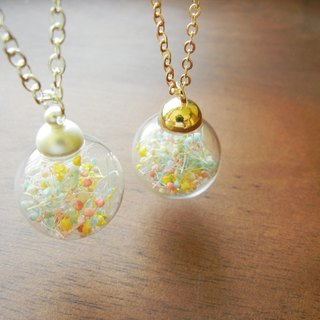 * Coucoubird * Candy Land glass necklace / Two colors