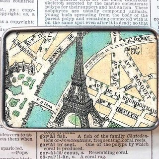 Paris Tower - Belt Head / Belt Optional / Limited Edition / Birthday Gift [Special U Design]