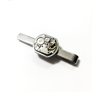 Steampunk Steam Punk Style 1960 Movement Tie Clip SV
