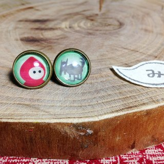 [ Earrings] Secrets of Little Red Riding Hood