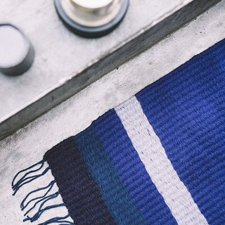 ISLANDS / Hand Loomed Rug - Indigo