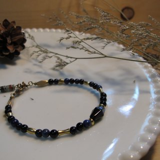 ▲ Baroque / Natural stone bracelet