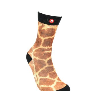 Hong Kong Design | Fool's Day stamp socks -Giraffe 00198