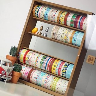 Log paper tape storage box