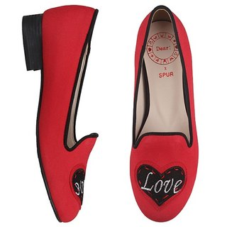 【RED COLLECTION】SPUR Write about love flats FS5100 RED