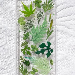Pressed flower phone case, iphone 6S, Nature color
