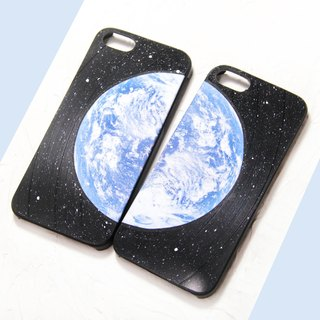 iPhone 6 / 6S  Phone Case Earth Vinyl Record 【HIRAETH Collection 】(Engraving Service)