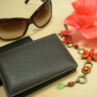 革職人 LEATHER FACTORY【Gracieux Business Card Case】Made in Japan