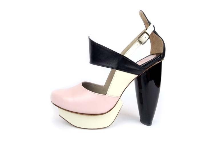 CLAVE 謀殺高跟鞋 宣示-粉-Platform shoe 絕版-下單前詢問尺碼