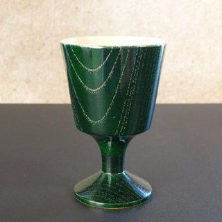 [Christmas gift] goblet / green