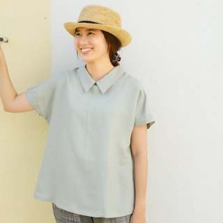 [HIKIDASHI] Tencel cotton French cuff shirt