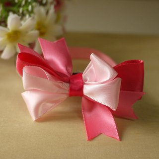 Safety x pet collar cute peach pink cats and dogs / Collar / tie / Jojo ♥ cherry pudding Cherry Pudding ♥