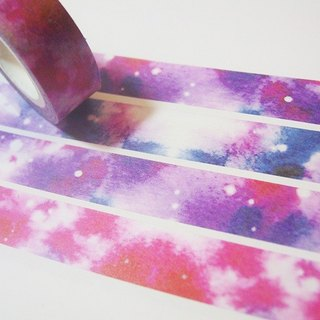 Watercolor Paper Tape - Gradient Purple