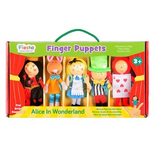 [UK Fiesta moving hands +] play creative creativity finger even Alice in Wonderland Toys (5 groups)