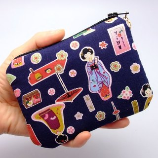 Zipper pouch / coin purse (padded) (ZS-47)