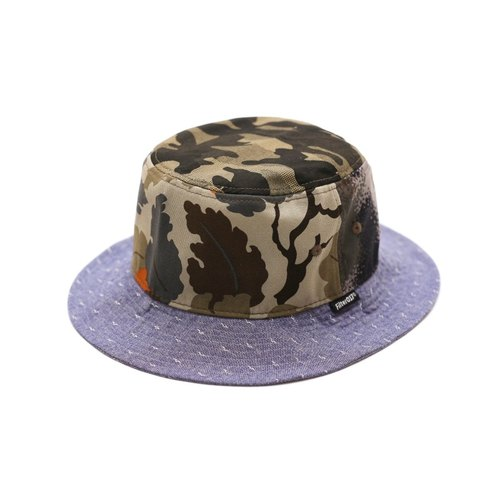 Filter017 - Fisherman's Hat - Mix 'n Match Camouflage Bucket Hat The deciduous patchwork fisherman hat