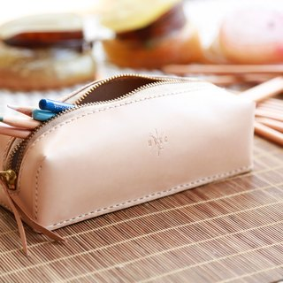 Personalise Pencil Case, Hand Stitch Pencil Case, Leather Pencil Case