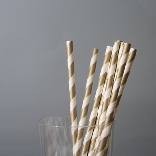 Bow & Tie - party paper straws