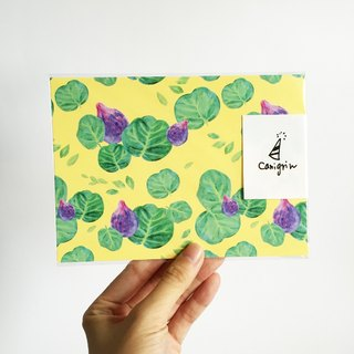 Fig Pattern Postcard
