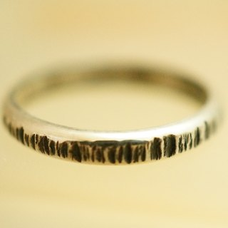 【janvierMade】Hammered Original Sterling Silver Ring / Contemporary Original Ring / 925 Sterling Silver Handmade