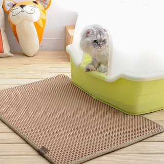 Blackhole Cat Litter Mat- Super Size Rectangular (Beige)