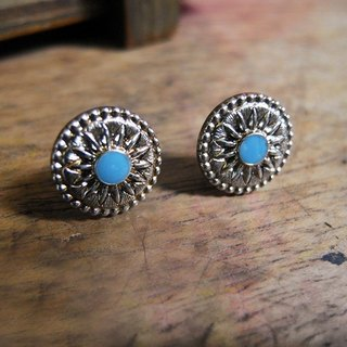 Time Travel【vintage handmade earrings :Tribal Guardian】